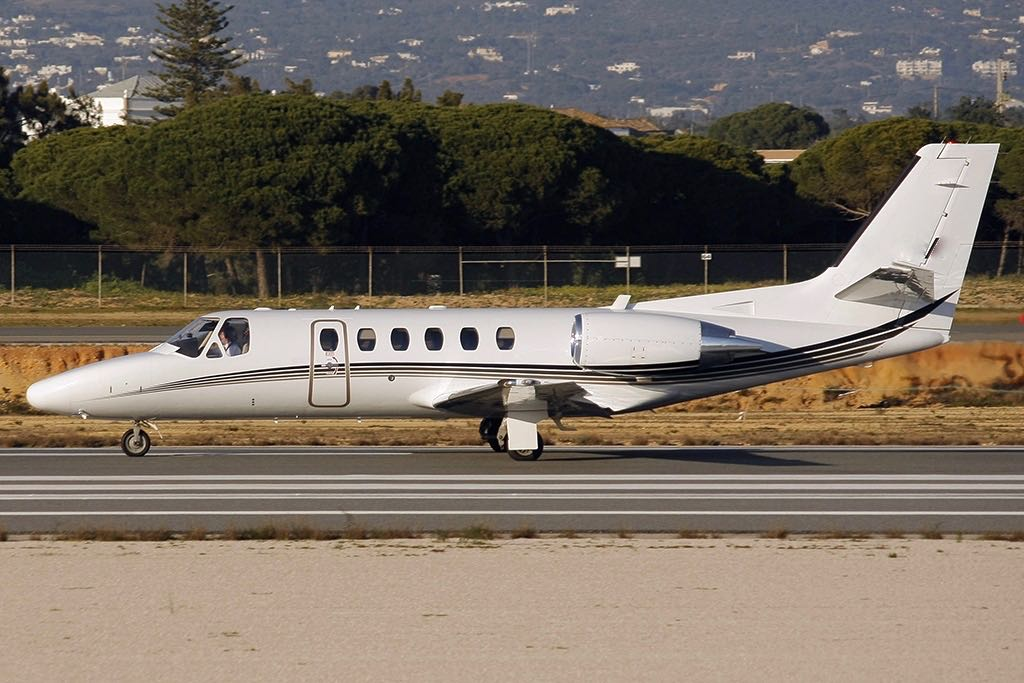 Cessna 550b citation bravo  private jp7048472  1