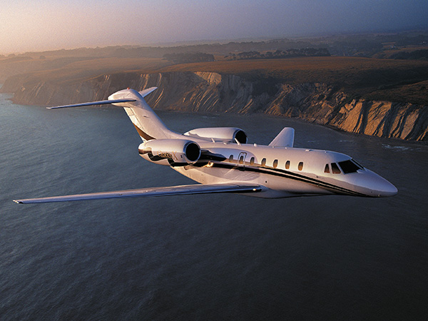 Private.jet .citation.x.exterior