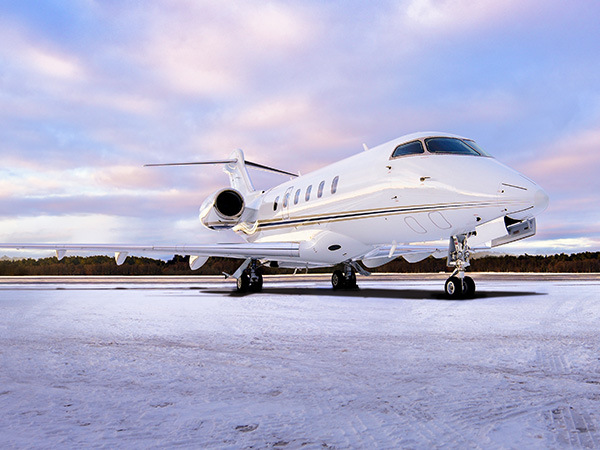 Bed based challenger 300 charter jet 0005 exterior 0004 pano