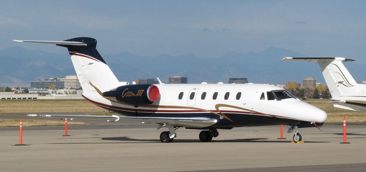 Cessna citation iii  n444cw   1
