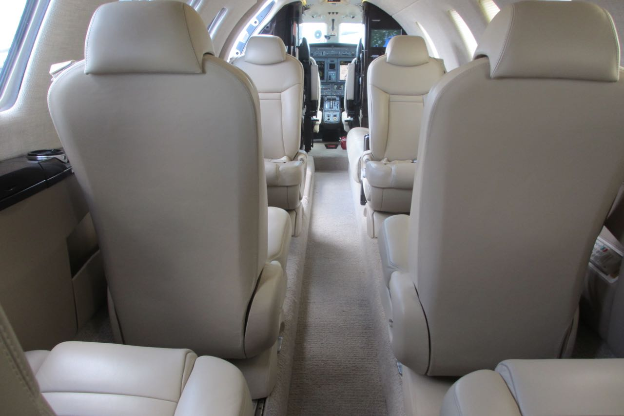 Cessna citation cj4 cabin interior