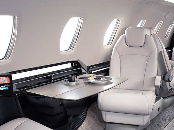 Private.jet .citation.x.interior.1